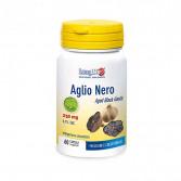 AGLIO NERO 60 Capsule | Integratore per la Pressione e Colesterolo | LONGLIFE