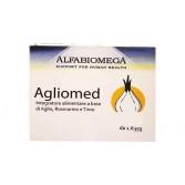 AGLIO MED 30 Tavolette | Integratore Funzione Digestiva | ALFABIOMEGA