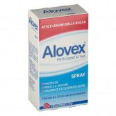 Spray Protezione Attiva 15 ml | Rimedio per afte e lesioni | ALOVEX