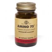 AMINO 75 Aminoacidi in forma libera 30 Cps vegetali | SOLGAR