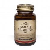 AMINO ARGININA 500 50 cps vegetali | Integratore a base di arginina  | SOLGAR