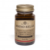 Amino Relax 30 cps vegetali| Integratore per il rilassamento e il benessere mentale | SOLGAR
