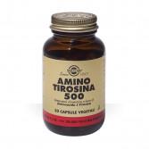 Amino Tirosina 500 50 cps veg | Integratore dell'aminoacido L-Tirosina | SOLGAR