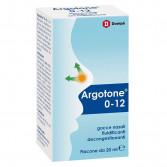 Argotone 0-12 gocce nasali 20ML | Fluidificante e Decongestionante | DOMPÈ Farmaceutici