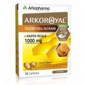 Arkoroyal Pappa Reale 1000 mg   Integratore energetico 30 Cpasule   ARKOPHARMA