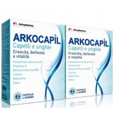 Arkocapil  2 X 60 cps | Integratore unghie e capelli | ARKOPHARMA
