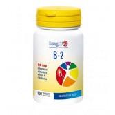 B 2 100 tav | Integratore di riboflavina | LONGLIFE