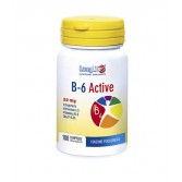B 6 ACTIVE Integratore di vitamina P5P 20 mg 100 CPR | LONGLIFE