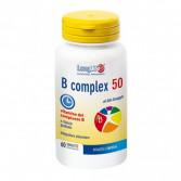 B COMPLEX 50 60 Tavolette | Integratore di Vitamine B a Rilascio Graduale | LONGLIFE