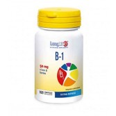 B1 50 mg 100 Compresse divisibili | Integratore Sistema Nervoso | LONGLIFE