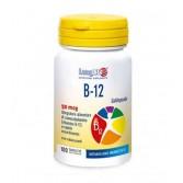 B 12 50 mcg 100 Tavolette sublinguale | Integratore di Vitamina B12 | LONGLIFE