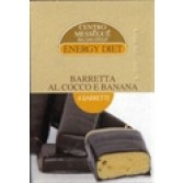 BARRETTA COCCO E BANANA | DIETA MESSEGUE' - Energy Diet |