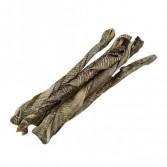 BASTONCINI DI PELLE DI MERLUZZO | Snack 5 pezzi cod.4225 | NATURAVETAL - Canis Plus