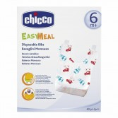 EASY MEAL Bavaglini Monouso 40 pz | CHICCO