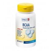 BCAA 60 Tavolette | Integratore di Aminoacidi ramificati con B1 e B6 | LONGLIFE