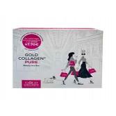 BOX PURE 10 Flaconcini + Lip volumiser + Hydrogel mask   GOLD COLLAGEN