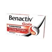 BENACTIV  Gola 8,75 mg | 16 Pastiglie Gusto Limone e Miele
