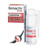 BENACTIV  Gola  2,5 mg/ml | Spray per mucosa orale - Flacone 15 ml