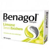 BENAGOL Senza Zucchero   16 Pastiglie gusto limone
