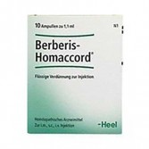 BERBERIS HOMACCORD | 10 Fiale omeopatiche | GUNA  Heel