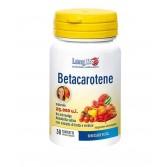 BETACAROTENE 30 Compresse | Integratore Beta Carotene 25.000 u.i. | LONGLIFE