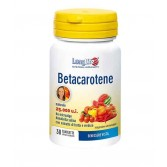 BETACAROTENE Integratore di beta-carotene 30 cpr | LONGLIFE