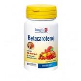 Betacarotene 60 cps  | Integratore Abbronzatura | LONGLIFE