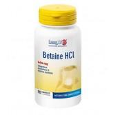BETAINE HCL 90 Compresse | Integratore per il metabolismo dell'omocisteina | LONGLIFE