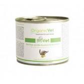 BIO PUTE 200 g | Cibo umido bio per GATTI tacchino, zucchine e zucca | ORGANIC VET - BioVet
