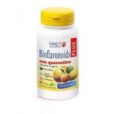 Bioflavonoids Plus 60 tav | Integratore di flavonoidi da agrumi, vitamina C, bromelina | LONGLIFE