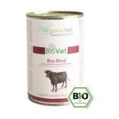 BIO RIND 400 g | Manzo bio con patate, spinaci e carote per CANI | ORGANIC VET - BioVet