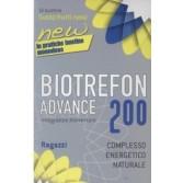 ADVANCE 200 RAGAZZI | Integratore Energetico Naturale Frutti Rossi | BIOTREFON