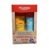 BIBACK Spray solare 50+ 200 ml con omaggio doposole | MUSTELA - Solari