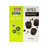BITES Dark Chocolate | Snack di Soia al Cioccolato Fondente 5 Buste | ENERZONA