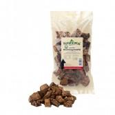 BOCCONCINI DI POLMONE DI CERVO Essiccato | Snack 100 g | NATURAVETAL - Canis Plus