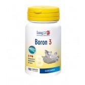 BORON 3 | Integratore alimentare di boro 100 compresse | LONGLIFE