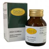 Alga Clorella 50 capsule | Integratore depurativo | BRAVI Monoconcentrati