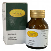 Bardana 50 capsule | Integratore Depurativo | BRAVI Monoconcentrati
