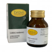 Cardo Mariano 50 capsule | Integratore Depurativo epatico | BRAVI Monoconcentrati