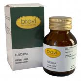 Curcuma 50 capsule | Integratore Benessere digestivo | BRAVI Monoconcentrati