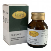 Fieno Greco 50 capsule | Integratore per il controllo Glicemico | BRAVI Monoconcentrati