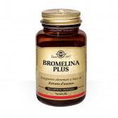 Bromelina Plus 60 cps | Integratore anticellulite | SOLGAR