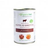 BUFFEL & KAROTTEN 400 g | Cibo monoproteico bufalo e carote per CANI | ORGANIC VET