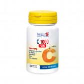 C 1000 Forte 50 tav | Integratore Vitamina C Echinacea Zinco e vitamina D | LONGLIFE