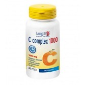 C complex 1000  60 tav | Integratore Vitamina C e Bioflavonoidi da agrumi | LONGLIFE