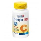 C COMPLEX 1.500 T/R 50 Tavolette | Integratore Vitamina C e Bioflavonoidi da agrumi | LONGLIFE