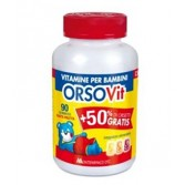 CARAMELLE GOMMOSE Vitamine per bambini 90 PEZZI | ORSOVIT