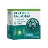 CARLO ERBA  2,25 g BAMBINI | 6 Contenitori Monodose Microclismi Glicerolo