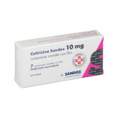 CETIRIZINA SANDOZ | 7 Compresse rivestite 10 mg