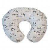 Cuscino allattamento Boppy | Fodera in cotone Hello Baby | CHICCO